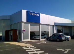 Sionneau réhabilitation Volvo bâtiment